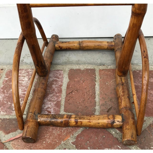 1950s Vintage Bamboo Umbrella Stand For Sale - Image 5 of 8