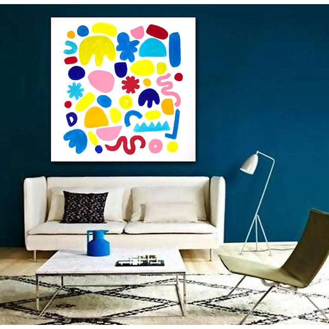 Provides a feeling of great happiness and triumph. As with most of my work, this painting can be displayed in any...