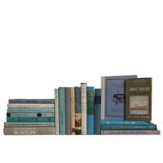 Midcentury New England Culture Book Set, S/20 For Sale