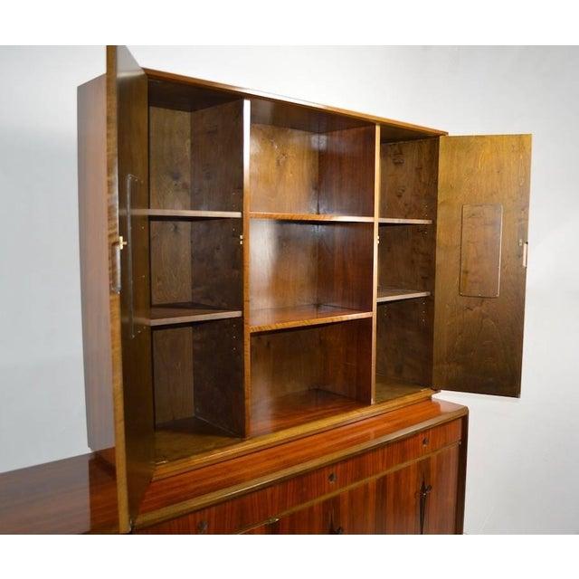 Brown Edmund Spence Credenza Breakfront For Sale - Image 8 of 9