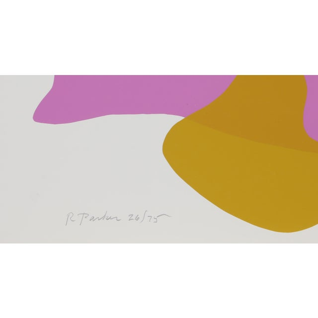 Artist: Raymond Parker, American (1922 - 1990) Title: Untitled Year: 1980 Medium: Silkscreen, signed and numbered in...