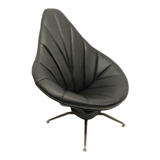 Atomic Mid Century Reclining Lounge Chair For Sale