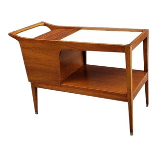1960s Vintage Arthur Umanoff for Cavelier Dimension Group Mid-Century Modern Bar Cart For Sale