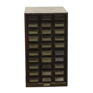 Vintage Addressograph Filing Cabinet For Sale