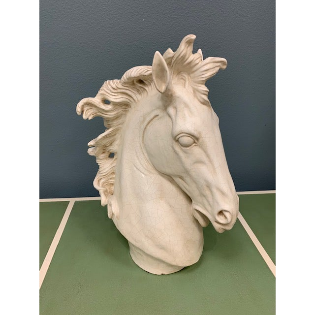 Sculpted of ceramic with hand applied marble finish by artisans in a century old family owned factory in Italy. Ceramic...