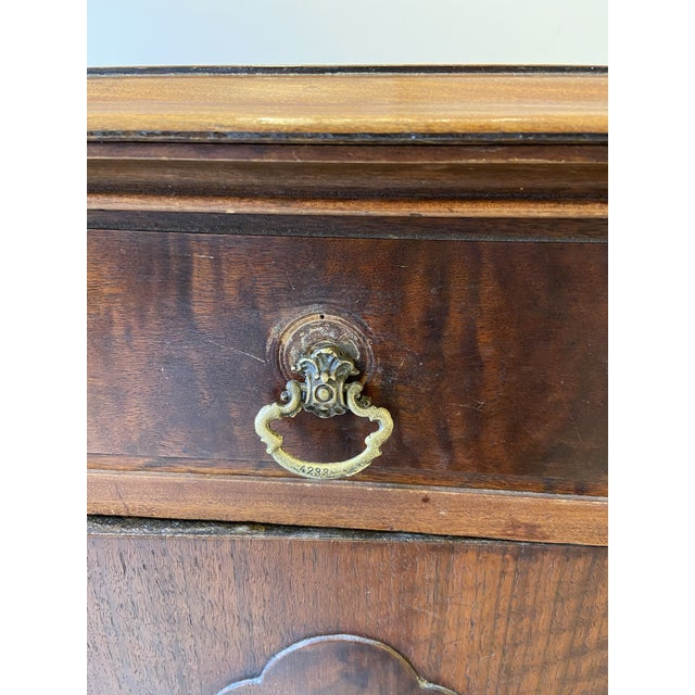 Brown Antique French Mahogany Sideboard For Sale - Image 8 of 10