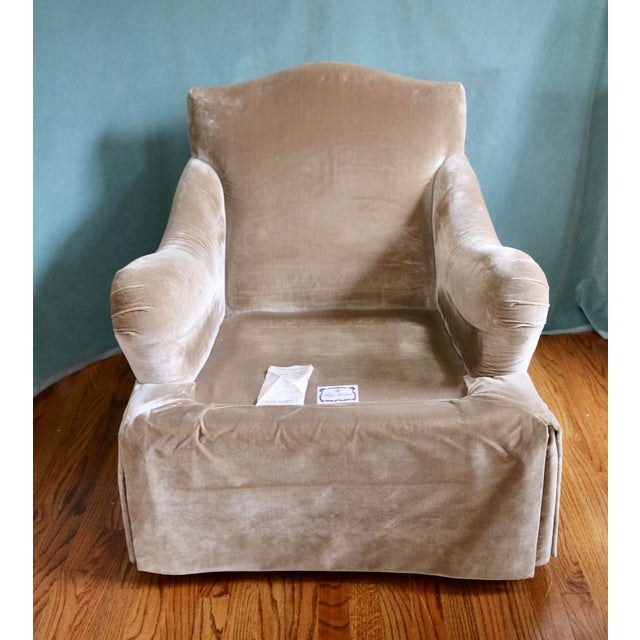 Baker Furniture English Arm Chair For Sale In Charlotte - Image 6 of 7