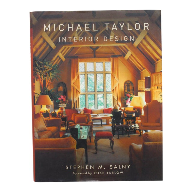 """Michael Taylor Interior Design"" Book For Sale"