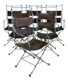 Image of Brown Directors Chairs