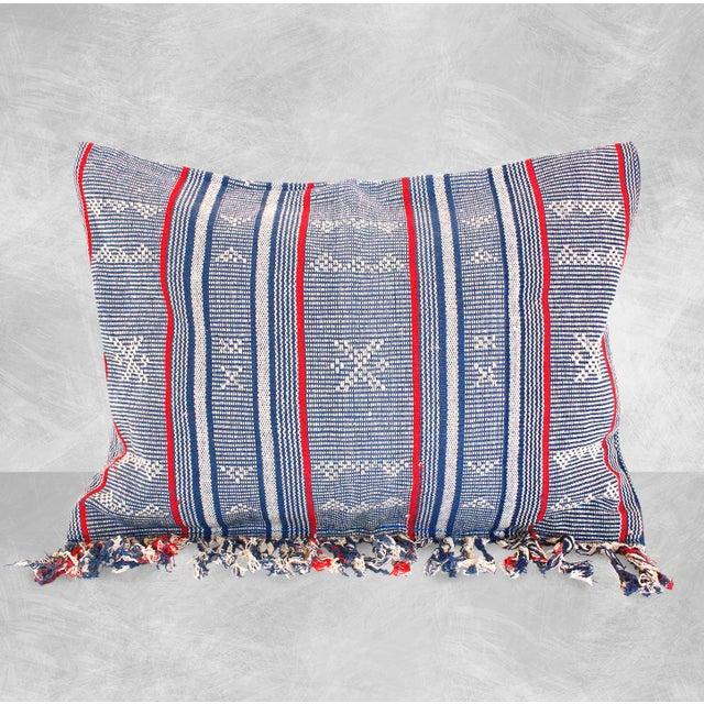 Sumba Indigo Ikat Pillow Cover - Image 2 of 4