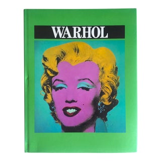 """Warhol"" Vintage 1996 Monograph Hardcover Pop Art Book For Sale"