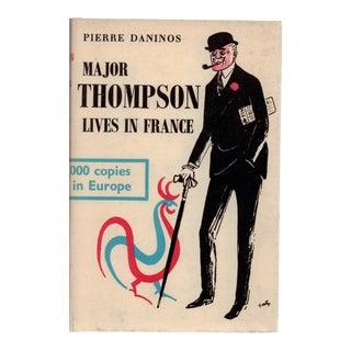 """1956 """"Major Thompson Lives in France"""" Collectible Book For Sale"""