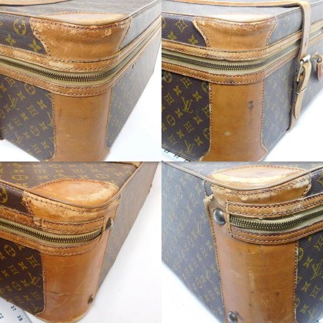 Authentic Vintage Louis Vuitton Suitcases - A Pair - Image 6 of 10