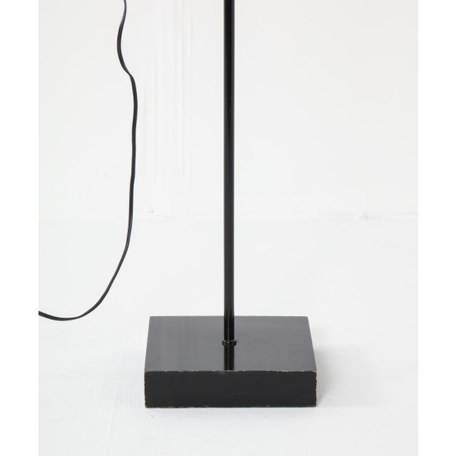 Mid-Century Modern Mid-Century Chrome and Black Adjustable Floor Lamp For Sale - Image 3 of 12