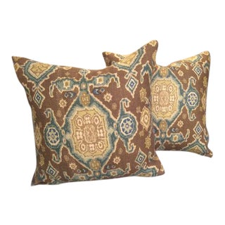 Eric Cohler for Lee Jofa Pillows - a Pair For Sale