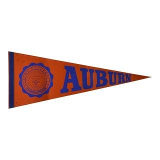 Vintage Auburn University Pennant For Sale