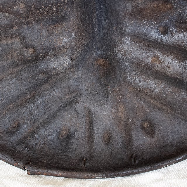 19th Century African Leather Shield For Sale - Image 11 of 11