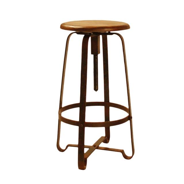 Prime Wood Industrial Iron Stool Inzonedesignstudio Interior Chair Design Inzonedesignstudiocom