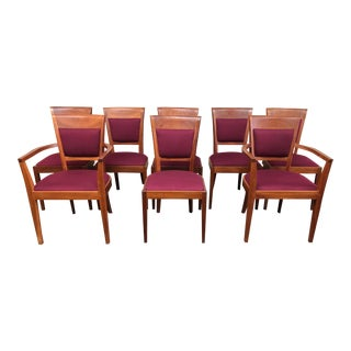Thomas Moser Set of Eight Harpswell Chairs