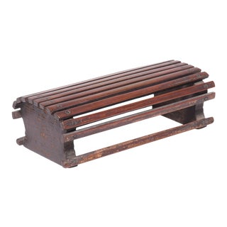 Chinese Bamboo Headrest For Sale