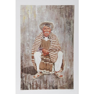 Vic Herman, Patience Is the Companion of Wisdom, Lithograph For Sale