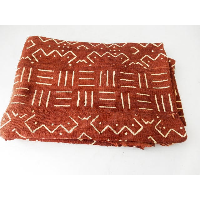 African Chocolate & Ivory Mud Cloth - Pair - Image 7 of 9