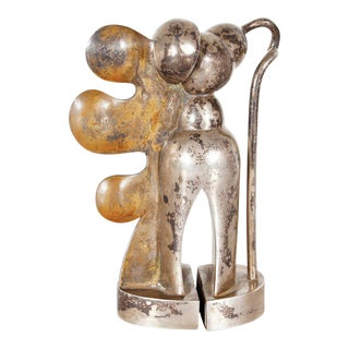 Cesar Bailleux Brass Sculpture