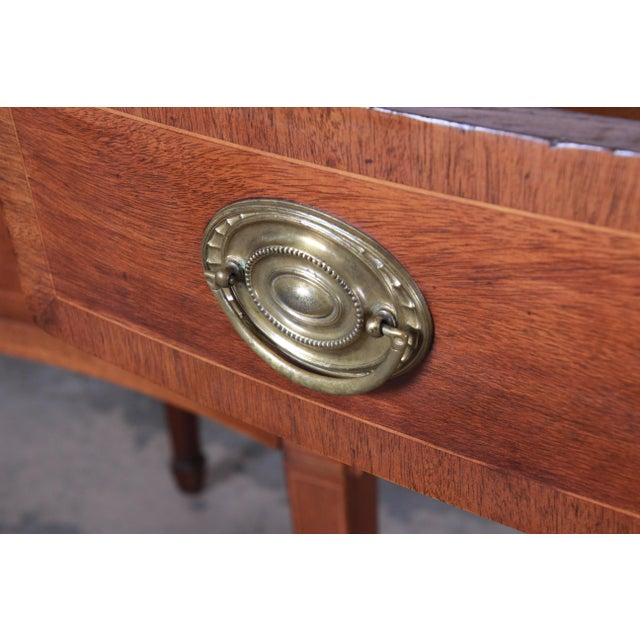 Kittinger Inlaid Mahogany Sideboard Credenza For Sale - Image 9 of 13