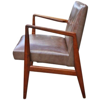 1960s Mid-Century Modern Jens Risom Arm Chair For Sale