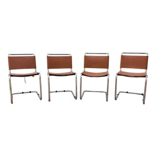1970s Vintage Knoll Ufficio Tecnico Spoleto Chairs- Set of 4 For Sale
