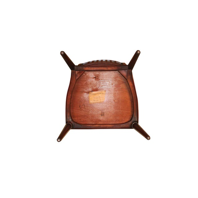 6 Svante Skogh Rosewood Cortina Dining Chairs For Sale - Image 11 of 13