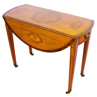 Georgian Revival George III Style Pembroke Table For Sale