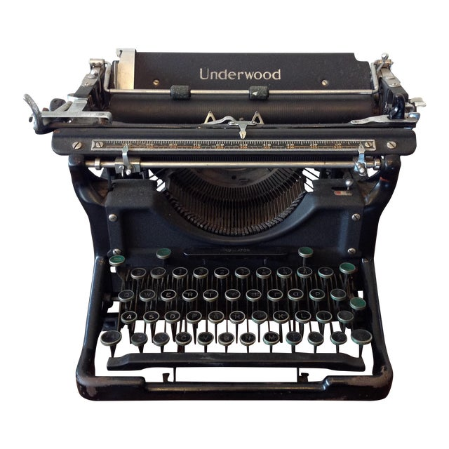 Antique Underwood Typewriter - Underwood No 6 For Sale