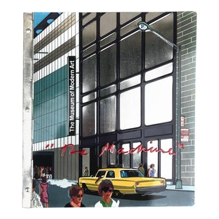 """Moma """"The Machine"""" Book With Aluminum Covers, 1968 For Sale"""