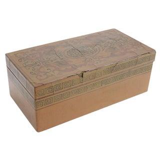 Antique Chinese Lacquerware Box