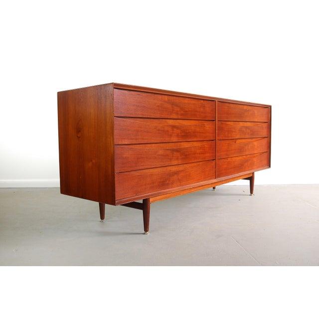 Sibast Furniture Arne Vodder Large Eight-Drawer Dresser/Credenza Designed by Arne Vodder for Sibast, Denmark For Sale - Image 4 of 4