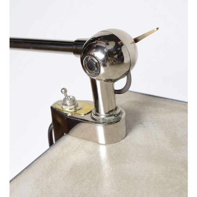 1940s 1940s Architectural Clamp Lamp For Sale - Image 5 of 10