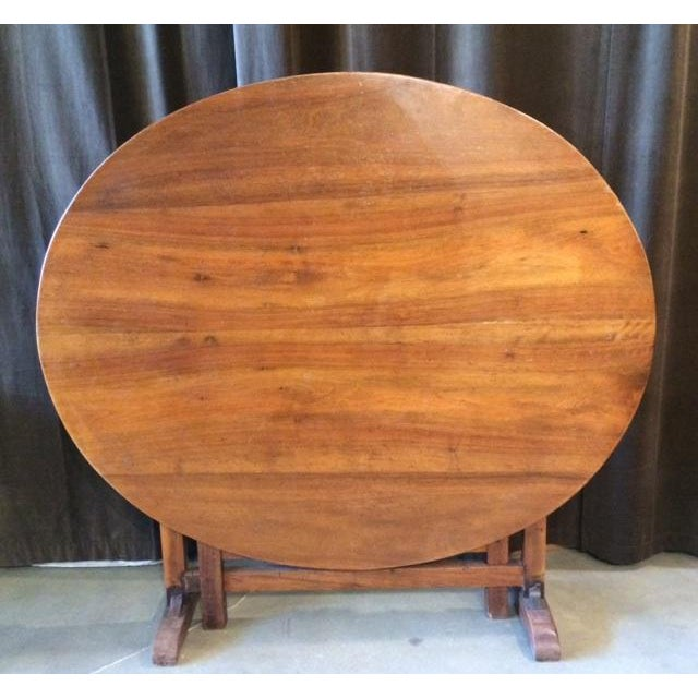 Late 19th Century Antique French Wine Tasting Table For Sale - Image 4 of 9