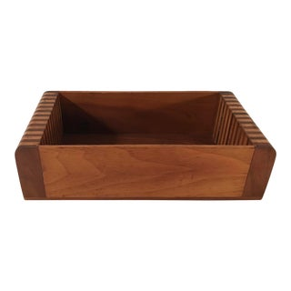 Wooden Catch All Box