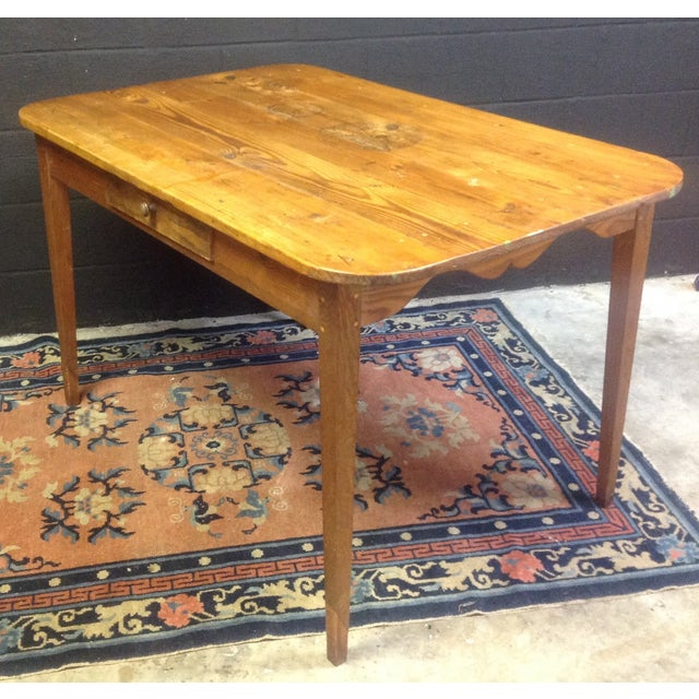 Antique French Pine Table For Sale - Image 5 of 7