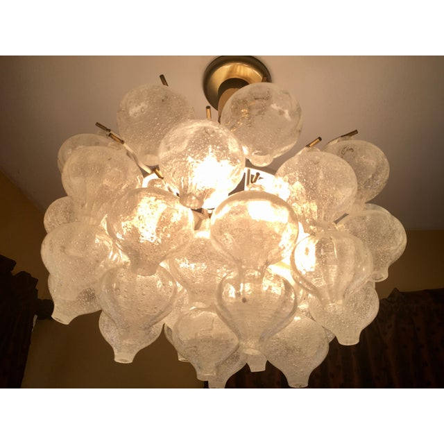 "Austrian ""Tulipan"" Chandelier by Kalmar - Image 2 of 7"