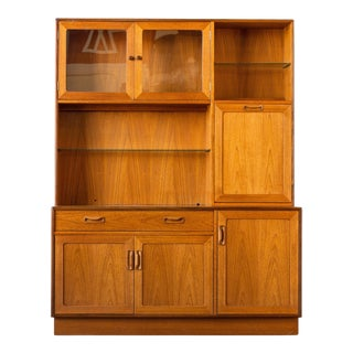 British Modern G Plan Wall Unit For Sale