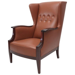 Frits Henningsen Lounge Chair For Sale