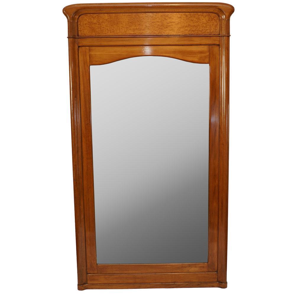 Birdseye Maple Mirror   Image 1 Of 4
