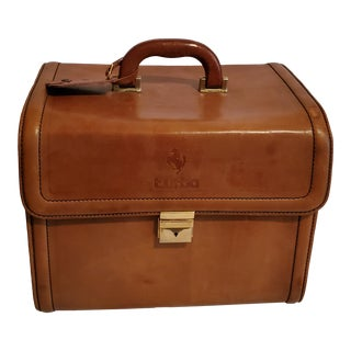 Vintage 1980s Italian Schedoni Ferrari 208 Turbo Luggage For Sale