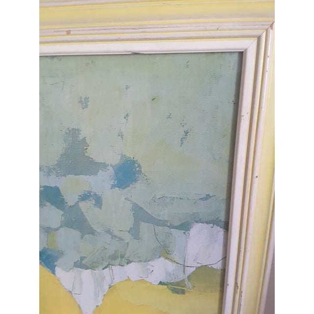 Vintage Mid-Century Artwork Framed Print of Watercolor Painting Signed Alexander Ross For Sale - Image 12 of 13