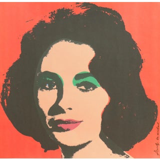 'Liz', After Andy Warhol, 1969; Elizabeth Taylor, Hollywood, Pop Art, Chelsea, New York, the Factory For Sale