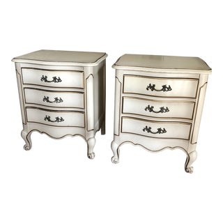 1970s French Provincial Night Stands - a Pair For Sale