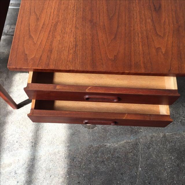 Teak Mid-Century Side Tables - Pair - Image 7 of 10