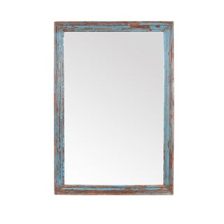 Vintage Distressed Moulding Mirror
